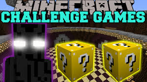 minecraft ender lord challenge games lucky block mod modded