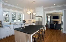 cottage kitchen with kitchen island by reform inc zillow digs