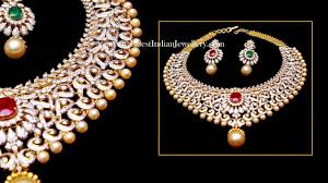 diamond necklace set images Top beautiful diamond necklace sets designs jpg