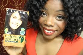 natural hair clairol natural instincts results youtube