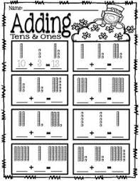 freebie tens u0026 ones place value worksheets first grade math