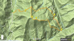 Rocky Mountain Range Map Unicoi Gap Hiking The Appalachian Trail To Rocky Mountain