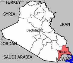 basra map musings on iraq foreign investment in iraq s basra runs into problems