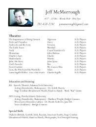 resume templates free download 2017 music actors resume template free acting download collaborativenation com