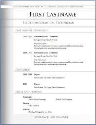 Free Resume Writer Template Basic Resume Template Free Academic Resume Writing Template For