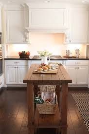 white kitchen wood island reclaimed wood kitchen island design ideas