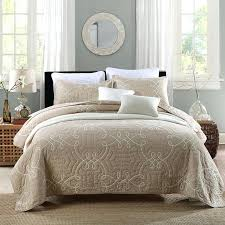 Quilted Cotton Coverlet Solid Color Quilts Pinterest Solid Color Comforter Full Solid
