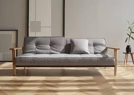 canap design scandinave canapé design scandinave en textile et bois de chêne innovation living