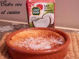 3 cuisine recette recette autour d un ingrédient 3 flans pomme lait de coco