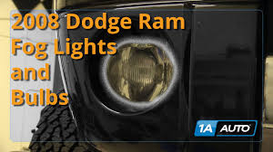 ram 1500 fog lights how to install replace fog lights 2002 08 dodge ram 1500 buy quality