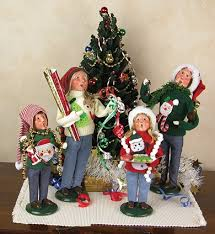 Ugly Christmas Decorations - byers choice caroler byers choice caroler ugly christmas sweater
