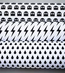 black and white wrapping paper black white spooky all free printable gift