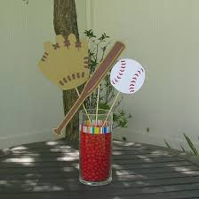 baseball centerpieces baseball centerpieces for tables baseball table decorations set of