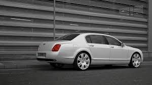 white bentley sedan project kahn present bentley flying spur pearl white edition