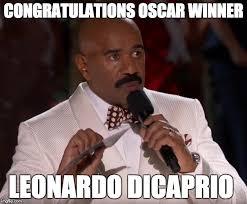 Leonardo Dicaprio Meme Oscar - poor steve imgflip