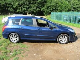 cheap automatic peugeot used 2009 peugeot 308 sw se automatic 7 seater for sale in bristol