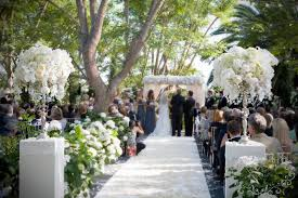 wedding ceremony canopy vintage wedding of shawn and zack in rancho santa fe