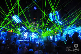 laser light show miami richard sherman at wall world red eye world red eye