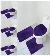 Purple Bathroom Rug Purple Bathmats Rugs Toilet Covers Ebay