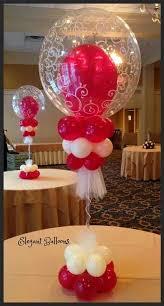 Elegant Balloon Centerpieces by Centerpiece Balloon Decor D U0026h Balloon Bouquets Ideas Pinterest