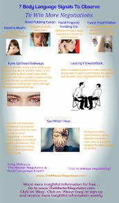 eye movement meaning in negotiation