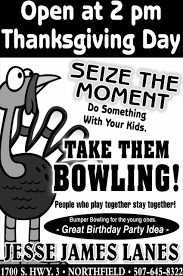 open at 2pm thanksgiving day lanes northfield mn