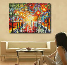 new pure manual painting knife home decoration painting oil