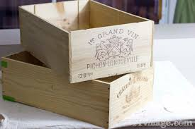 rolling storage from up cycled wine crates the diy village