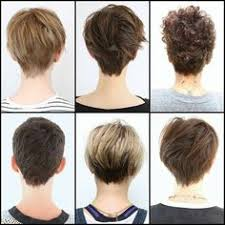 front and back views of chopped hair 2017 short pixie haircuts wow com image results haircut