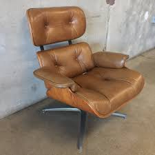 Eames Leather Lounge Chair Frank Doerner Eames Style Leather Lounge Chair U2013 Urbanamericana