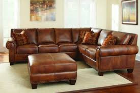 Sectional Couch With Ottoman by Silverado Two Piece Leather Sectional Upholstery From Steve Silver