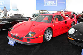 f40 auction 1990 f40 us spec supercars