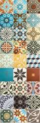 Portuguese Tiles Kitchen - wall stencil tutorial encaustic cement tile wall decor