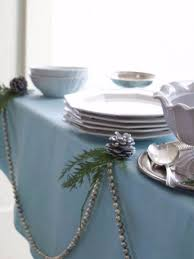 Table Decorating Ideas 40 Fresh Blue Christmas Decorating Ideas Family Holiday Net