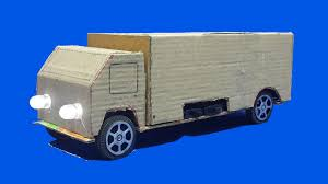 electric truck how to make a battery powered electric truck with led headlight