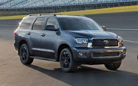 comparison toyota sequoia limited 2018 vs toyota land