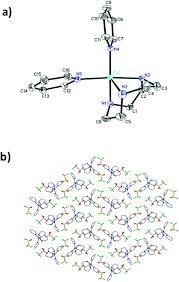 self assembly of a novel cu ii coordination complex forms
