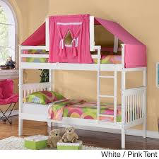 Tent Bunk Beds Donco Mission Tent Bunk Bed Free Shipping Today