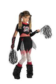 spirit of halloween costume amazon com cheerless leader child costume medium clothing
