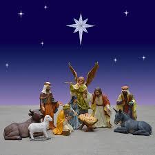 old world nativity scene 37