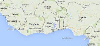Ghana Africa Map by Ghana Sos Barnebyer