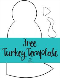 100 turkey template printable cute turkey craft w free