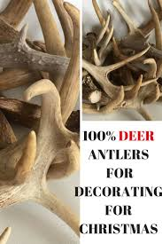 the 25 best antler christmas tree ideas on pinterest the