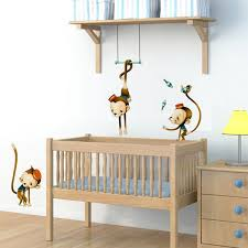 stickers animaux chambre bébé sticker enfant singe de cirque sticker chambre enfant