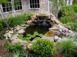 Japanese Garden Design Ideas For Small Gardens by Contemplative Japanese Waterfall Garden Gardenso