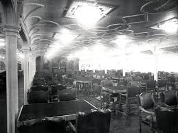 titanic first class dining room titanic s 10 500 square foot first class dining saloon was the
