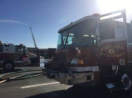 North Bay Fire Control District by Fire At San Leandro Salvage Yard Under Control After Hours Sfgate