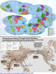 Haplogroup World Map by