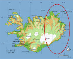 Grapevine Map East Icelanders Tired Of Being Blocked By The Weather Forecaster