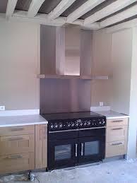 hotte pour cuisine cuisine best of plaque inox brossé pour cuisine high definition